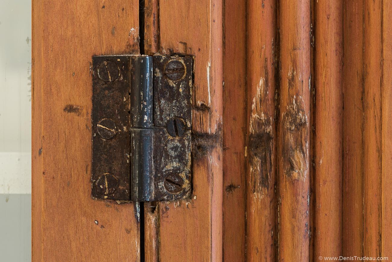 Détail armoire encastrée - Glacière